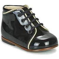kengät Tytöt Korkeavartiset tennarit Little Mary MEGGIE Musta
