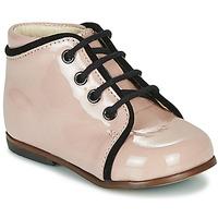 kengät Tytöt Korkeavartiset tennarit Little Mary MEGGIE Vaaleanpunainen
