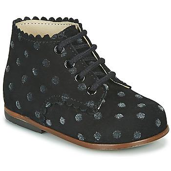 kengät Tytöt Korkeavartiset tennarit Little Mary VIVALDI Musta