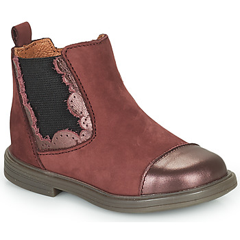 kengät Tytöt Bootsit Little Mary ELVIRE Viininpunainen