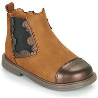 kengät Tytöt Bootsit Little Mary ELVIRE Ruskea