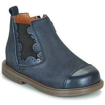 kengät Tytöt Bootsit Little Mary ELVIRE Sininen
