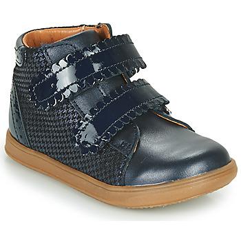 kengät Tytöt Korkeavartiset tennarit Little Mary CRISTIE Sininen