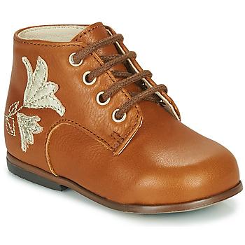 kengät Tytöt Korkeavartiset tennarit Little Mary MEIGE Ruskea