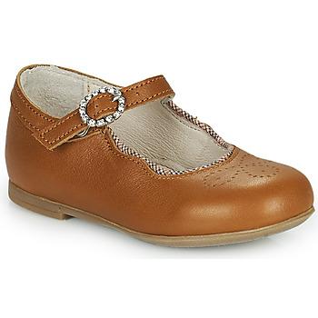 kengät Tytöt Balleriinat Little Mary AUBERIE Ruskea