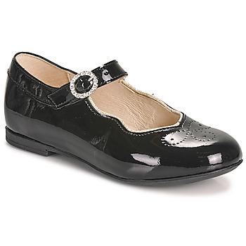 kengät Tytöt Balleriinat Little Mary AUBERIE Musta