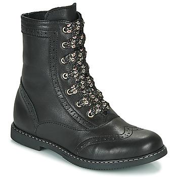 kengät Tytöt Bootsit Little Mary LYSIANE Musta