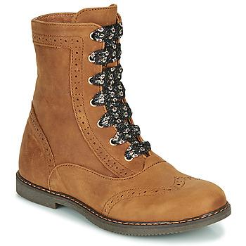 kengät Tytöt Bootsit Little Mary LYSIANE Ruskea