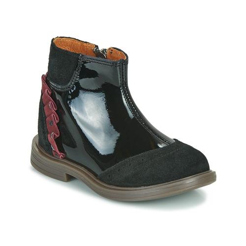 kengät Tytöt Bootsit Little Mary ELSIE Musta