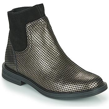 kengät Tytöt Bootsit Little Mary ELIETTE Musta