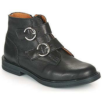 kengät Tytöt Bootsit Little Mary EMILIENNE Musta