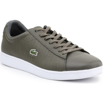 kengät Miehet Matalavartiset tennarit Lacoste 7-33SPM10373T2 olive green