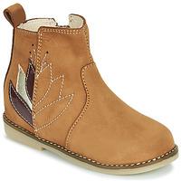 kengät Tytöt Bootsit Little Mary KARRY Ruskea