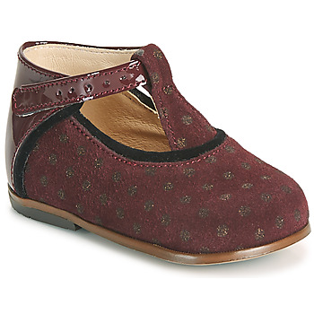 kengät Tytöt Korkeavartiset tennarit Little Mary BETHANY Viininpunainen