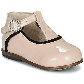 kengät Tytöt Korkeavartiset tennarit Little Mary BETHANY Vaaleanpunainen
