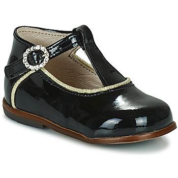 kengät Tytöt Korkeavartiset tennarit Little Mary BETHANY Musta