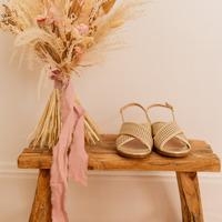 kengät Naiset Sandaalit ja avokkaat Céleste ORANGER Kulta
