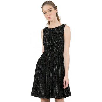 vaatteet Naiset Lyhyt mekko Molly Bracken R1532H20 Musta