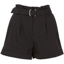 vaatteet Naiset Shortsit / Bermuda-shortsit See U Soon 20241065 Musta