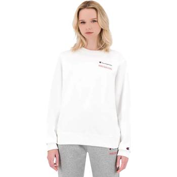 vaatteet Naiset Svetari Champion 114712 Valkoinen