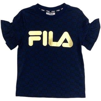 vaatteet Tytöt Lyhythihainen t-paita Fila 688038 Sininen