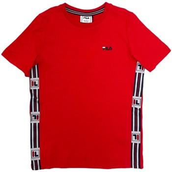 vaatteet Lapset Lyhythihainen t-paita Fila 688118 Punainen