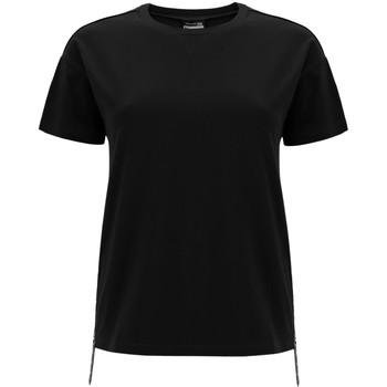 vaatteet Naiset Lyhythihainen t-paita Freddy F0WSDT5 Musta