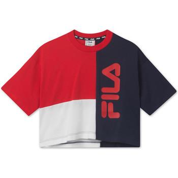 vaatteet Lapset Lyhythihainen t-paita Fila 687998 Punainen