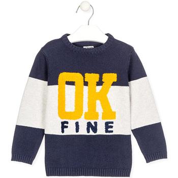 vaatteet Lapset Neulepusero Losan 025-5005AL Sininen