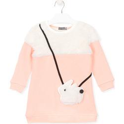 vaatteet Tytöt Svetari Losan 026-7007AL Vaaleanpunainen