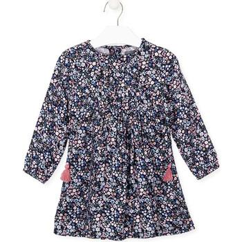 vaatteet Tytöt Mekot Losan 026-7021AL Sininen