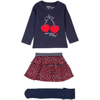 vaatteet Tytöt Kokonaisuus Losan 026-8023AL Sininen