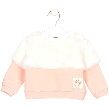 vaatteet Lapset Svetari Losan 028-6011AL Vaaleanpunainen