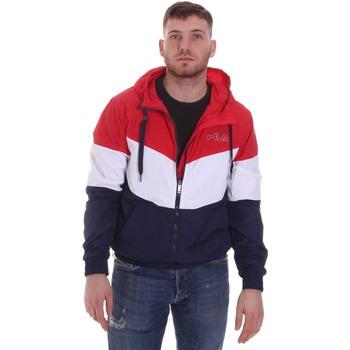 vaatteet Miehet Pusakka Fila 683197 Punainen