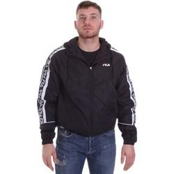 vaatteet Miehet Pusakka Fila 687701 Musta