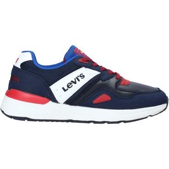 kengät Lapset Matalavartiset tennarit Levi's VBOS0021S Sininen