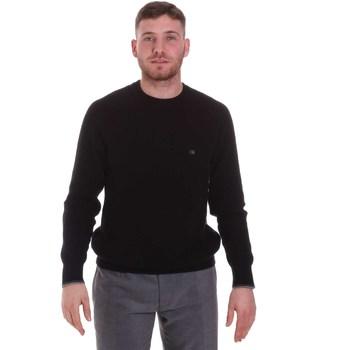 vaatteet Miehet Neulepusero Calvin Klein Jeans K10K105733 Musta