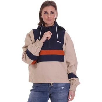 vaatteet Naiset Pusakka Fila 687922 Beige