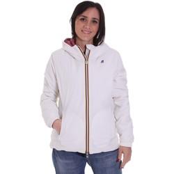 vaatteet Naiset Pusakka K-Way K00A2F0 Valkoinen