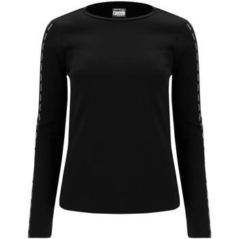 vaatteet Naiset T-paidat pitkillä hihoilla Freddy F0WSDT6 Musta