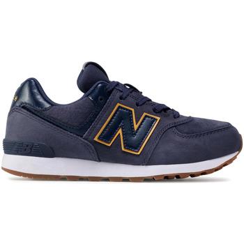 kengät Lapset Matalavartiset tennarit New Balance NBGC574PNY Sininen