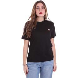 vaatteet Naiset Lyhythihainen t-paita Dickies DK0A4TMYBLK1 Musta