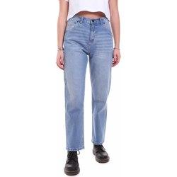 vaatteet Naiset Boyfriend-farkut Dickies DK133004LBL1 Sininen