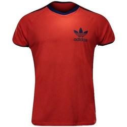 vaatteet Miehet Lyhythihainen t-paita adidas Originals Sport Ess Tee Punainen