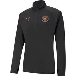 vaatteet Miehet Svetari Puma Sweat Manchester City Warmup noir/rose brillant