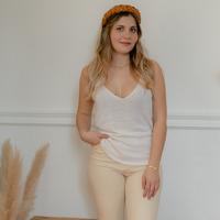 vaatteet Naiset Hihattomat paidat / Hihattomat t-paidat Céleste INSEPARABLE Vaalea