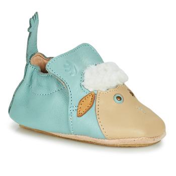 kengät Lapset Tossut Easy Peasy BLUBLU MOUTON Sininen