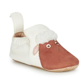 kengät Lapset Tossut Easy Peasy BLUBLU MOUTON Valkoinen