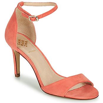 kengät Naiset Sandaalit ja avokkaat San Marina ARLANA/VEL Vaaleanpunainen