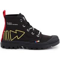 kengät Naiset Korkeavartiset tennarit Palladium Manufacture Pampa Dare PC U Mustat